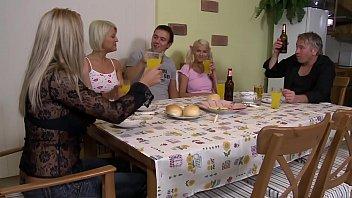 जर्मन पूरा परिवार अश्लील